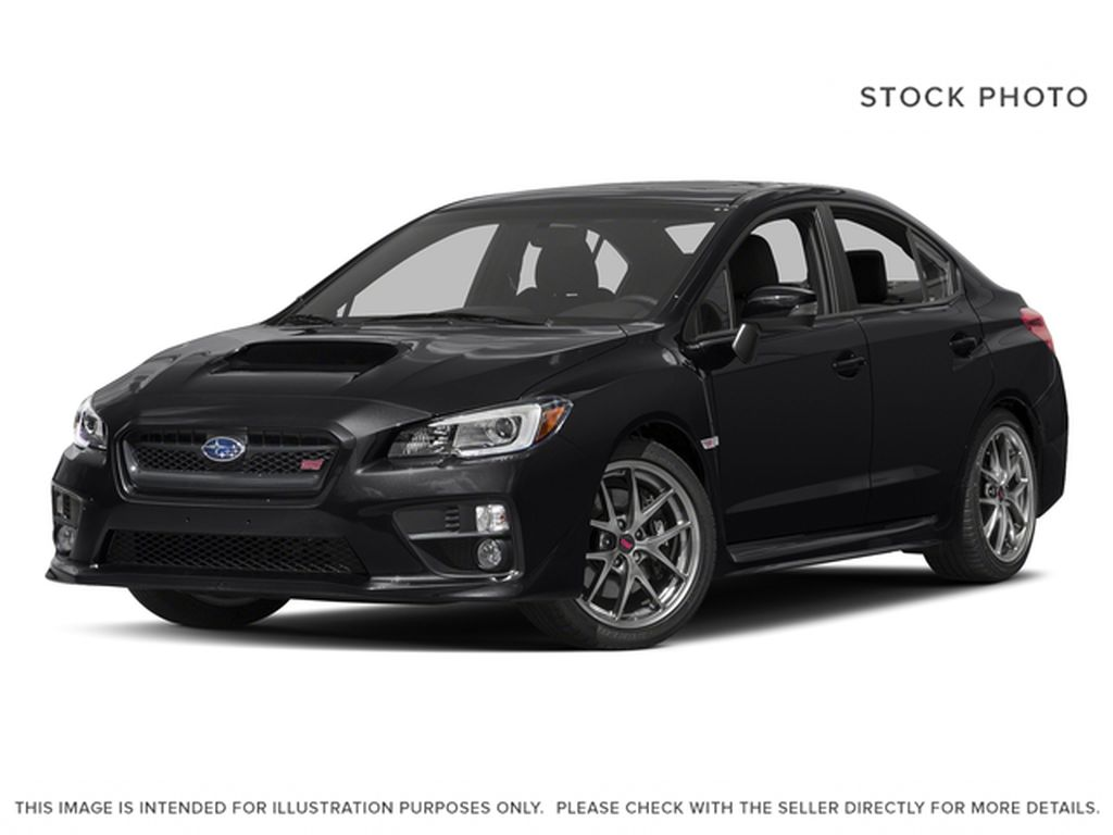 Black[Crystal Black Silica] 2017 Subaru WRX