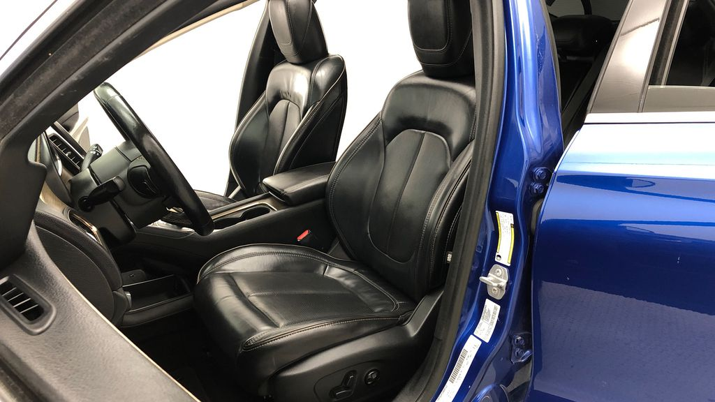 Blue[Vivid Blue Pearl] 2015 Chrysler 200 C - Leather, Panoramic Roof, Adaptive Cruise, SiriusXM Left Front Interior Photo in Winnipeg MB