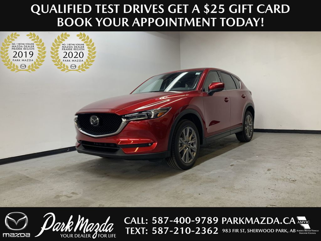SOUL RED CRYSTAL METALLIC(46V) 2021 Mazda CX-5 GT Turbo