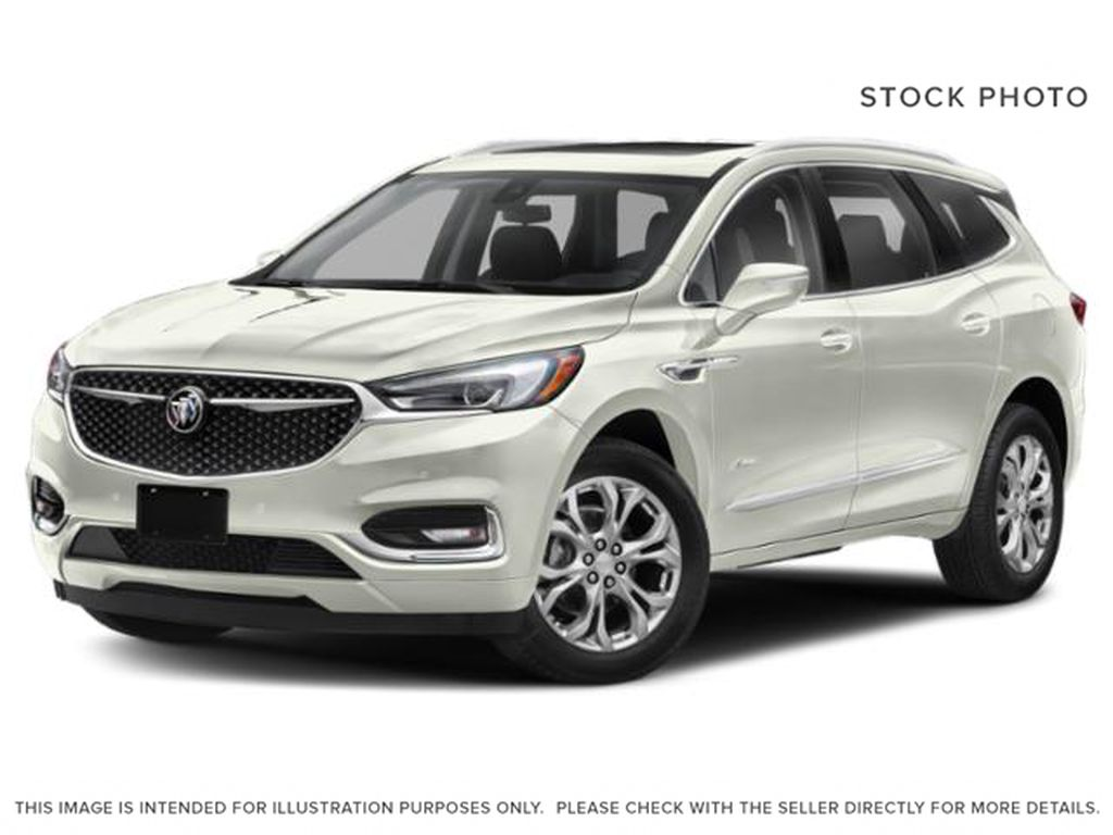 White Frost Tricoat 2021 Buick Enclave