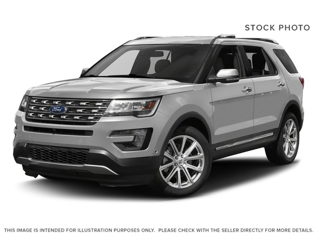 Silver[Ingot Silver Metallic] 2017 Ford Explorer LIMITED / SUNROOF / LEATHER