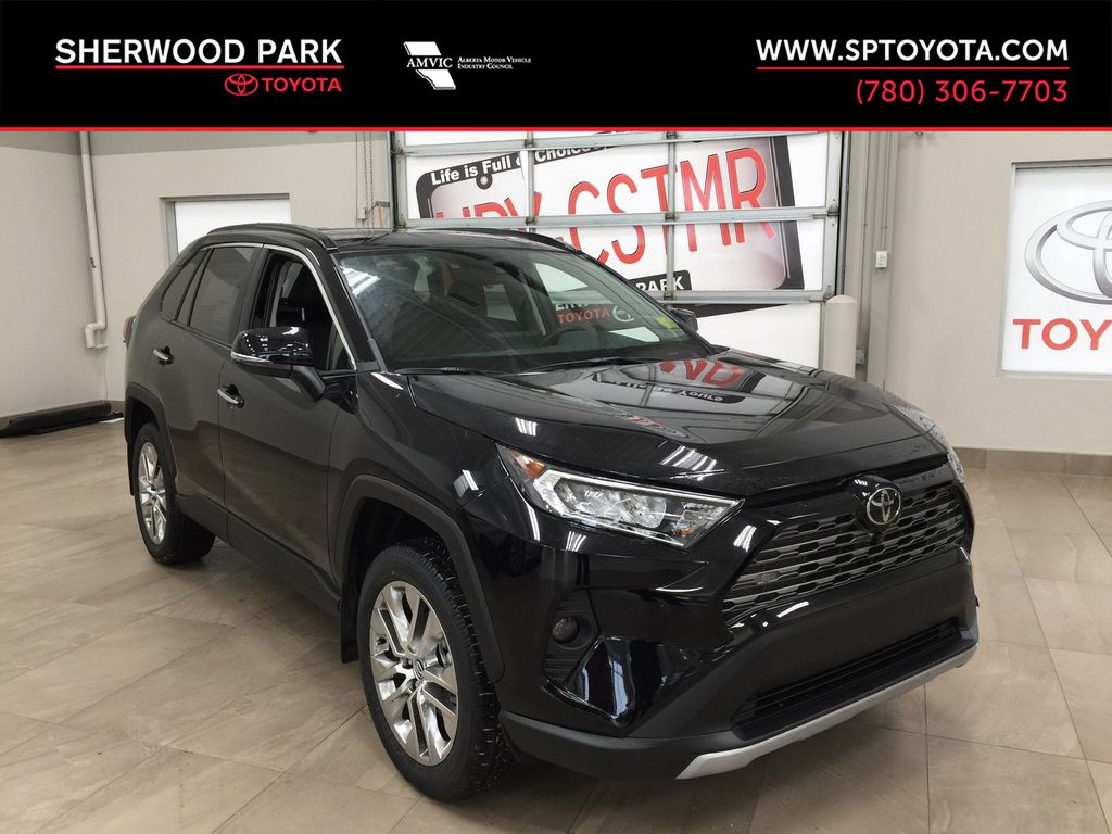Black[Midnight Black Metallic] 2021 Toyota RAV4 Limited