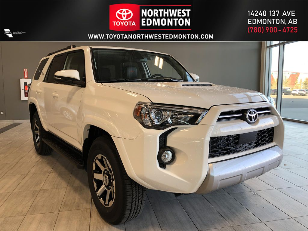 Super White 2021 Toyota 4Runner TRD Off Road
