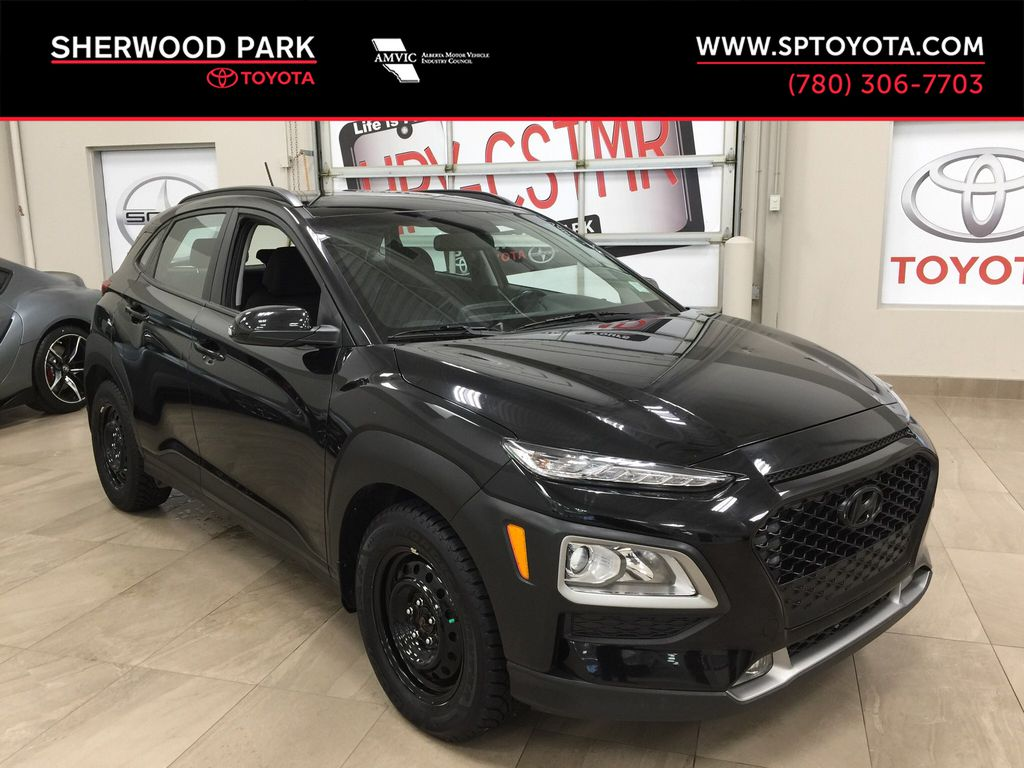 Black[Phantom Black] 2018 Hyundai Kona Preferred FWD
