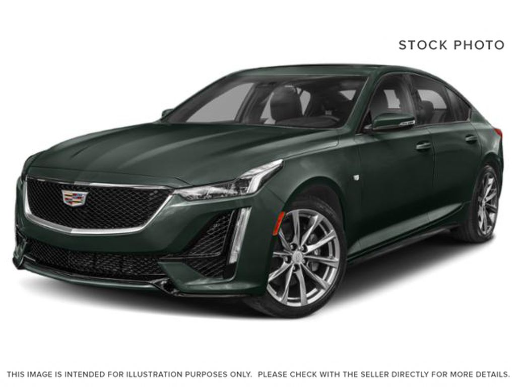 Green[Evergreen Metallic] 2021 Cadillac CT5 Sport