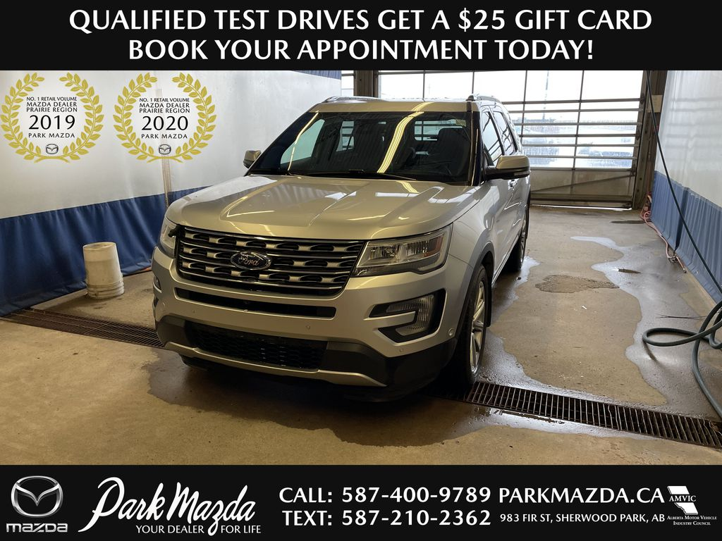 SILVER 2017 Ford Explorer Limited