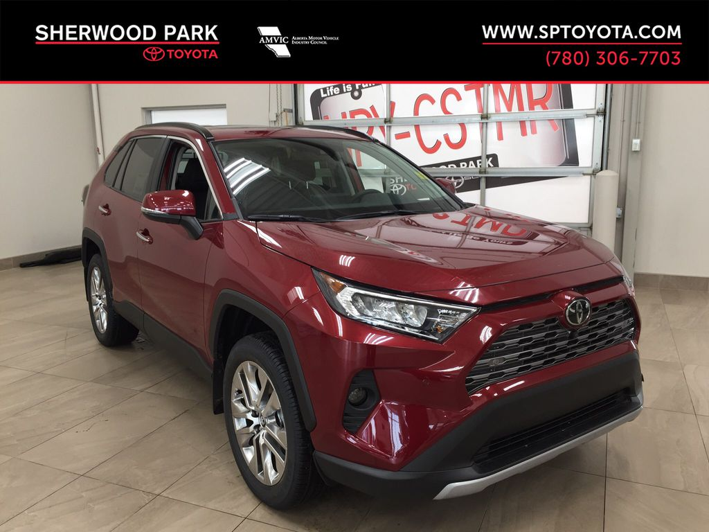 Red[Ruby Flare Pearl] 2021 Toyota RAV4 Limited