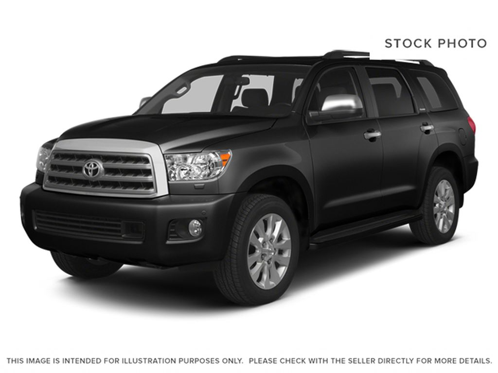 Black[Black] 2014 Toyota Sequoia Limited 4x4
