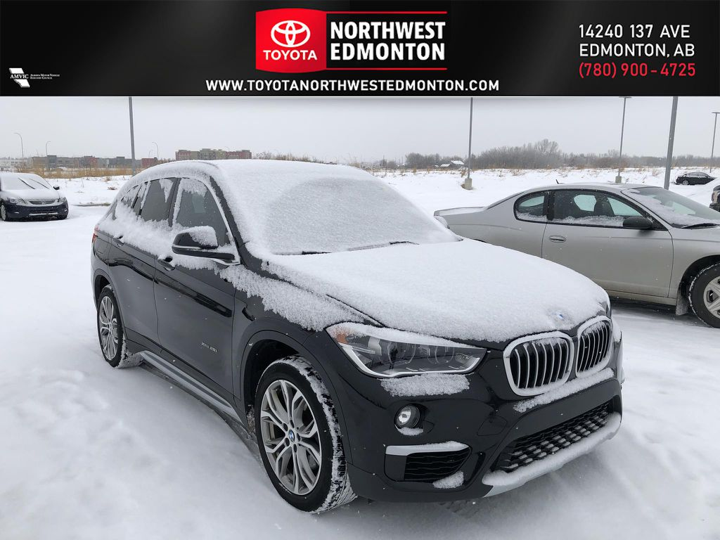 Black 2018 BMW X1 xDrive28i