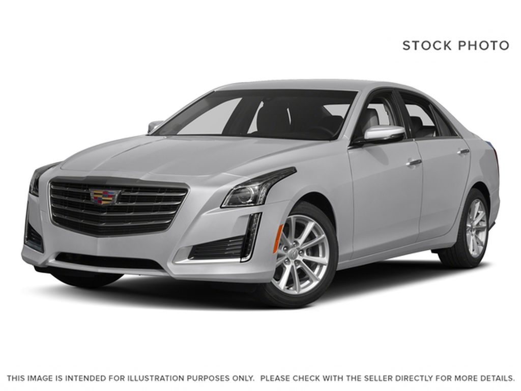 Black[Black Raven] 2017 Cadillac CTS Sedan Premium Luxury AWD