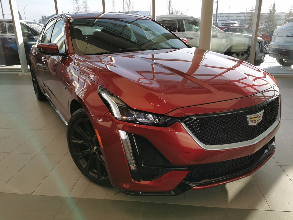 Red[Infrared Tintcoat] 2021 Cadillac CT5