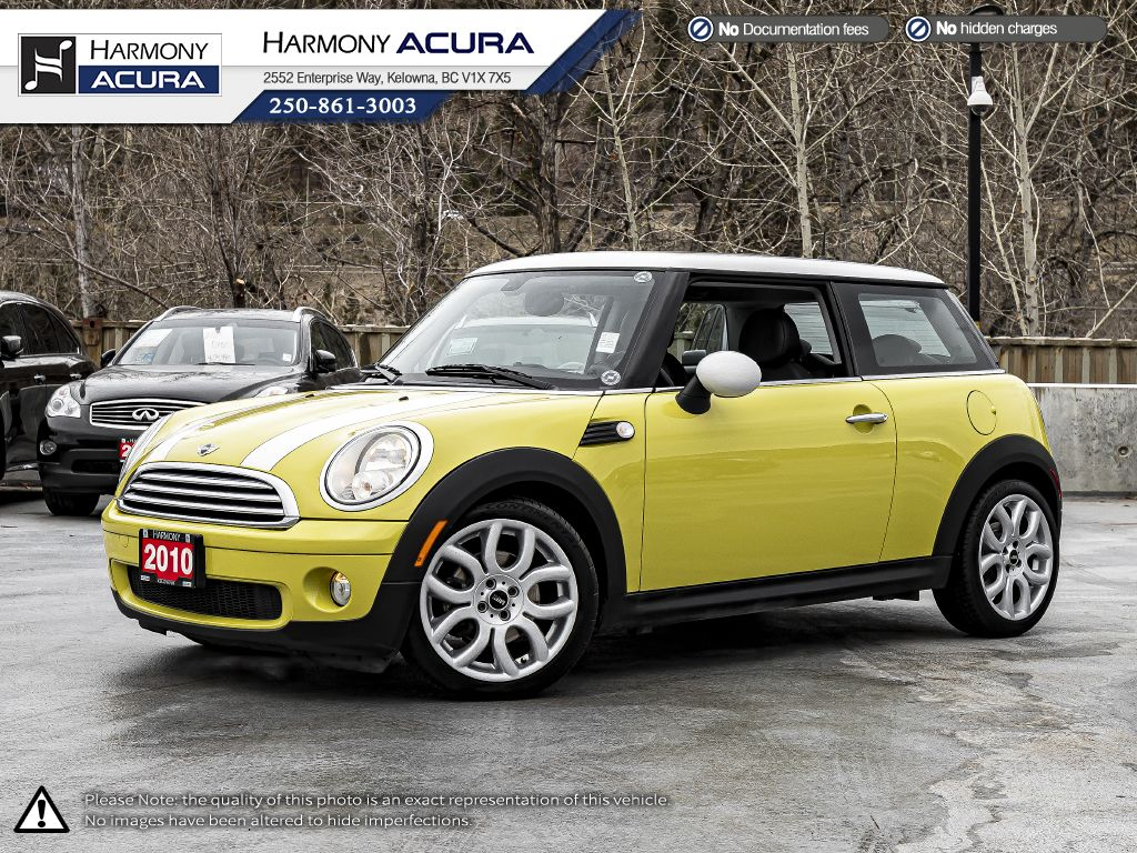 Yellow 2010 MINI Cooper Hardtop