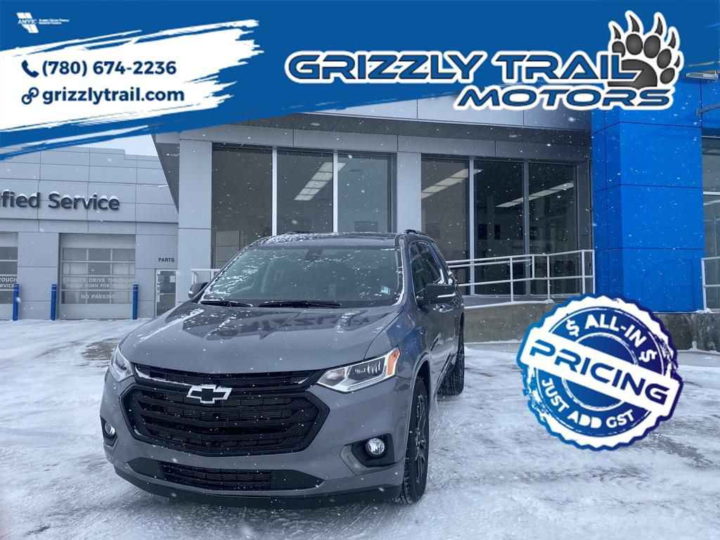 Dark Grey 2021 Chevrolet Traverse
