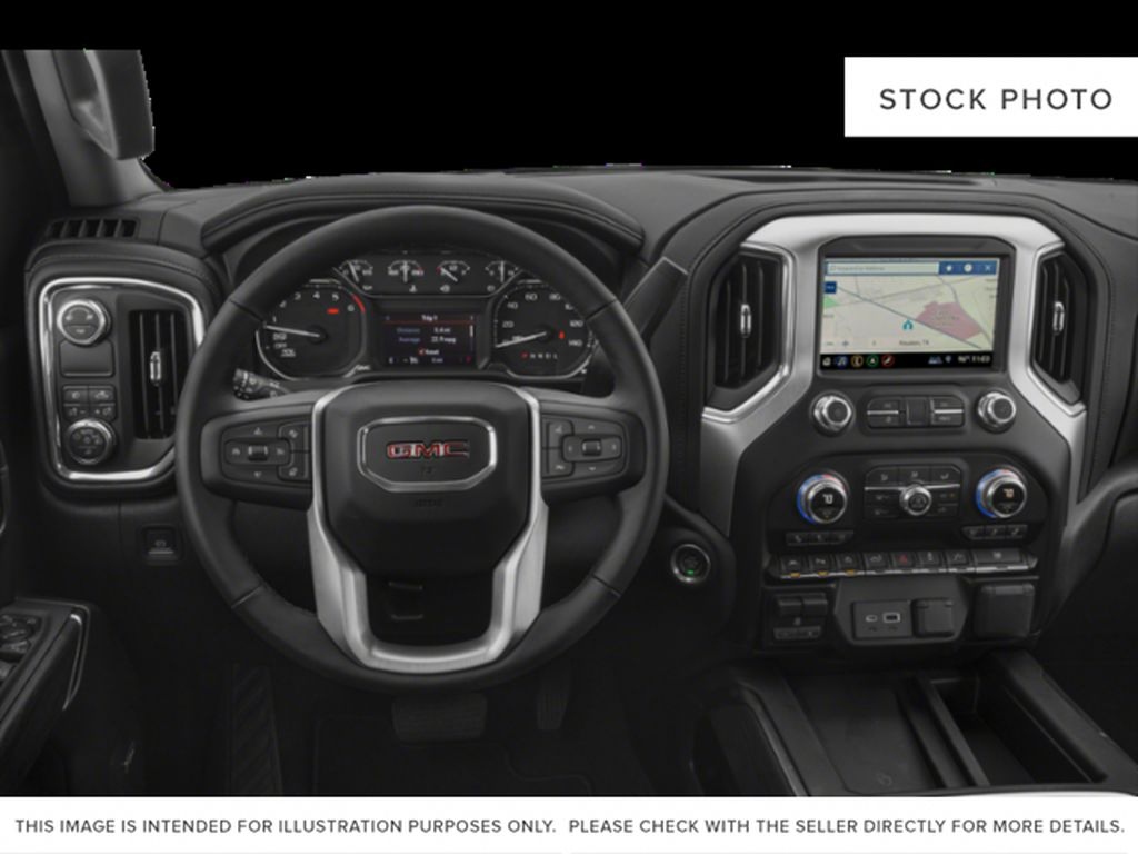 Red[Cardinal Red] 2019 GMC Sierra 1500 Steering Wheel and Dash Photo in Fort Macleod AB