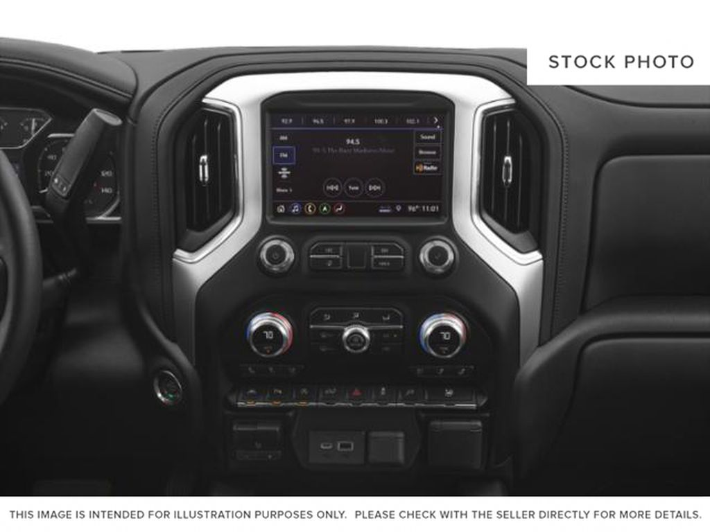 Red[Cardinal Red] 2019 GMC Sierra 1500 Radio Controls Closeup Photo in Fort Macleod AB