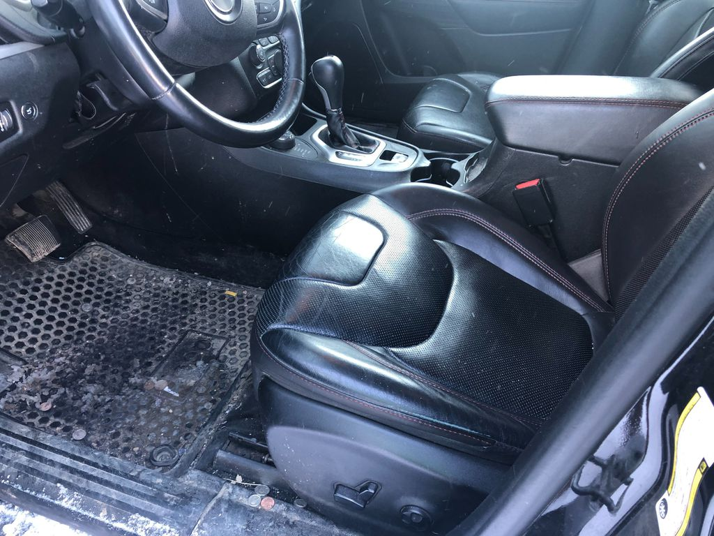 Black 2015 Jeep Cherokee Driver's Side Door Controls Photo in Lethbridge AB