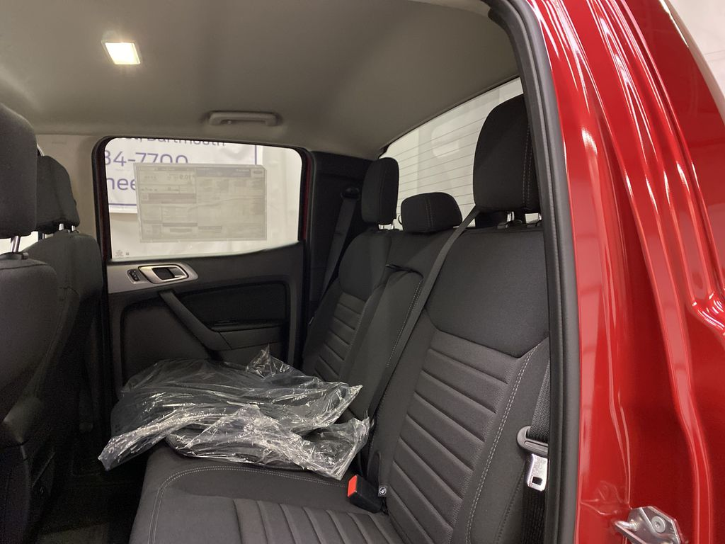 Red[Race Red] 2021 Ford Ranger Left Side Rear Seat  Photo in Dartmouth NS