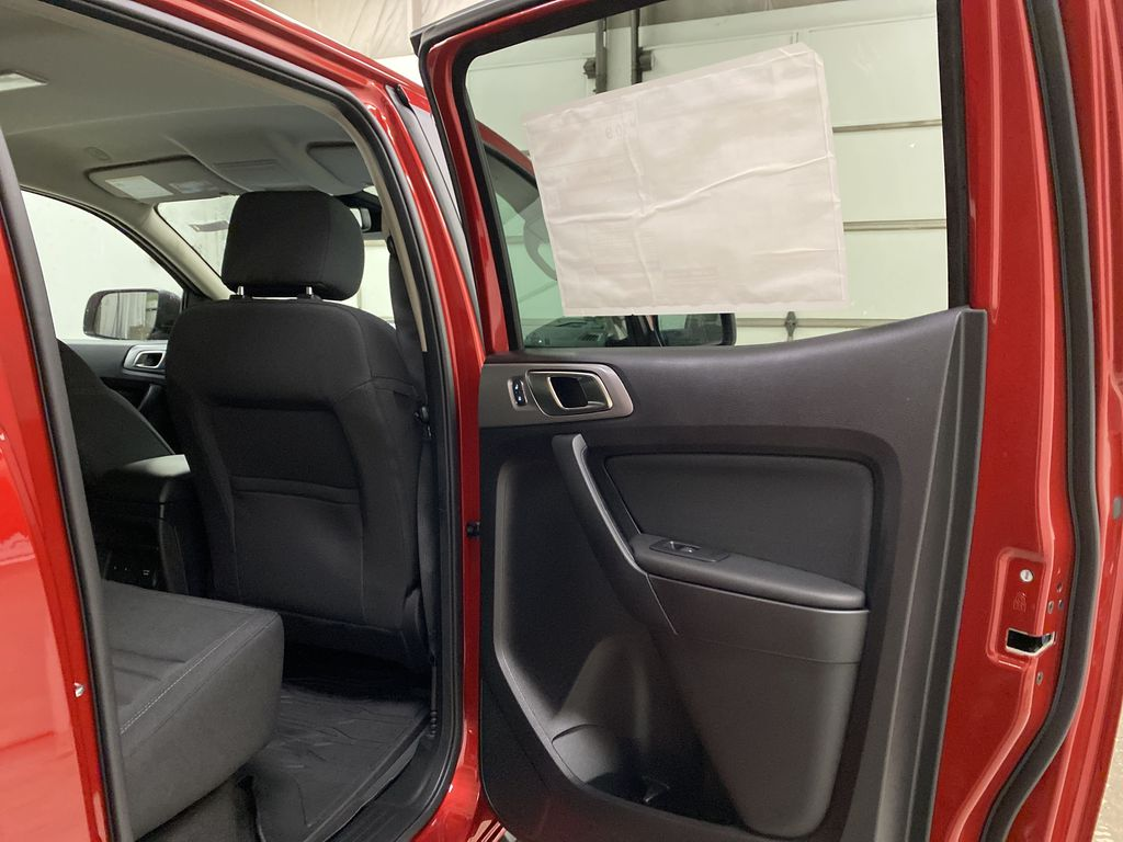 Red[Race Red] 2021 Ford Ranger Right Rear Interior Door Panel Photo in Dartmouth NS