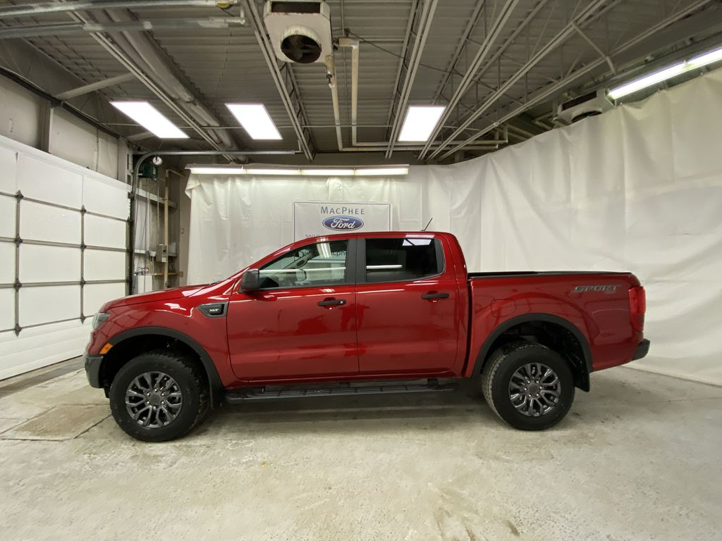 Red[Race Red] 2021 Ford Ranger Left Side Photo in Dartmouth NS