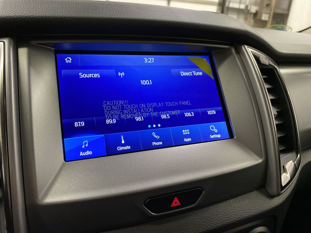 Red[Race Red] 2021 Ford Ranger Radio Controls Closeup Photo in Dartmouth NS