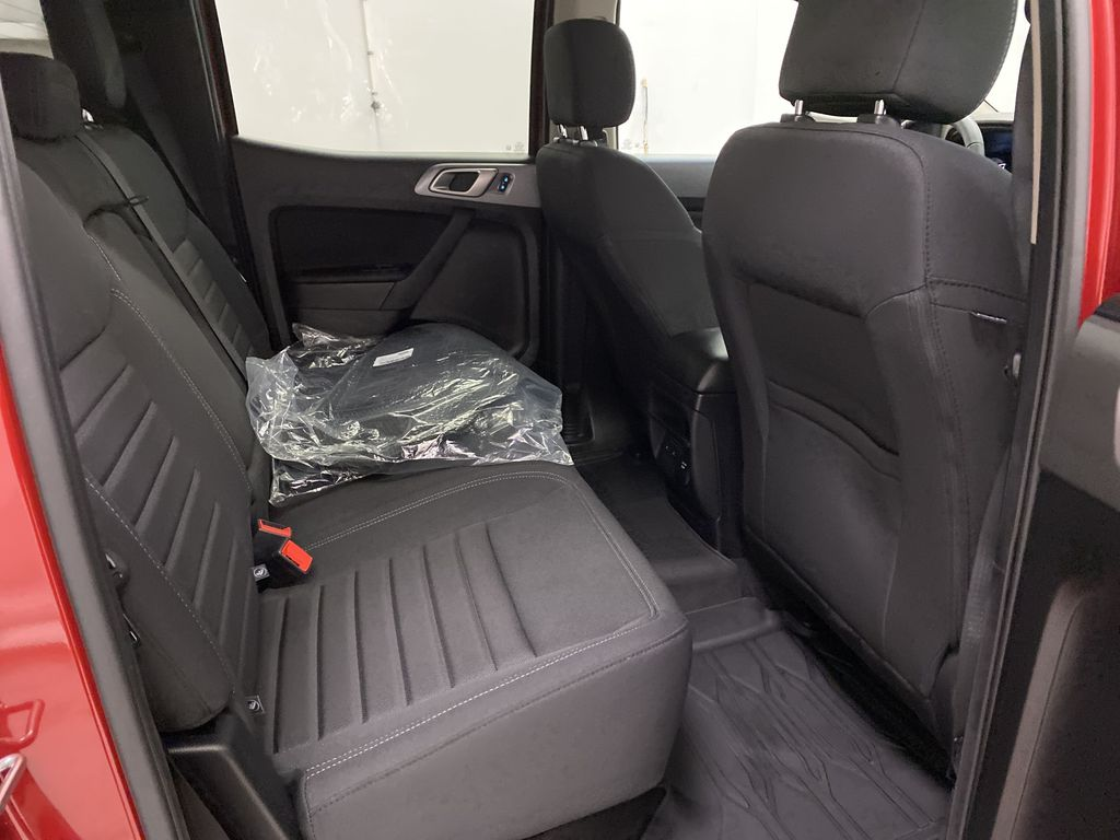 Red[Race Red] 2021 Ford Ranger Right Side Rear Seat  Photo in Dartmouth NS