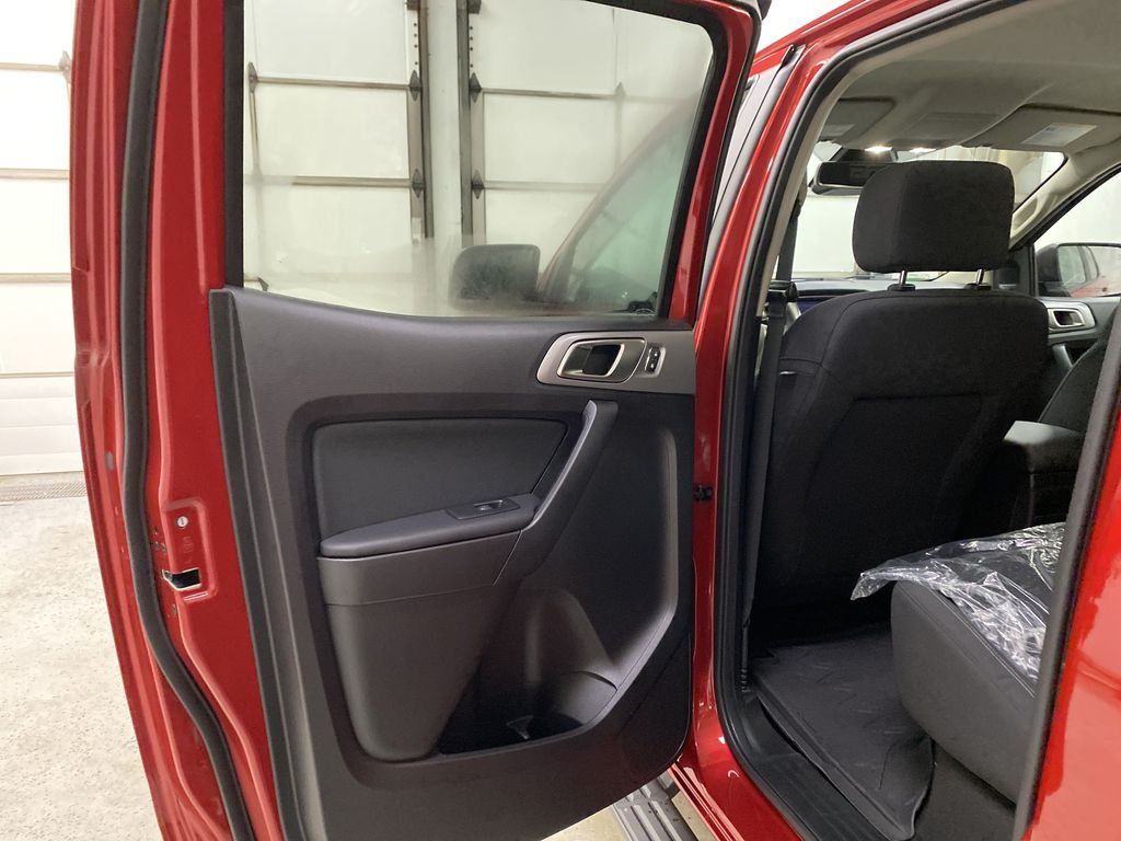 Red[Race Red] 2021 Ford Ranger Left Rear Interior Door Panel Photo in Dartmouth NS