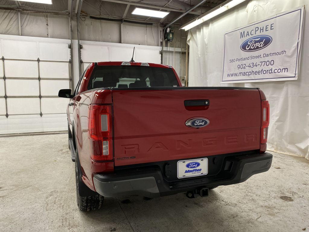 Red[Race Red] 2021 Ford Ranger Rear of Vehicle Photo in Dartmouth NS