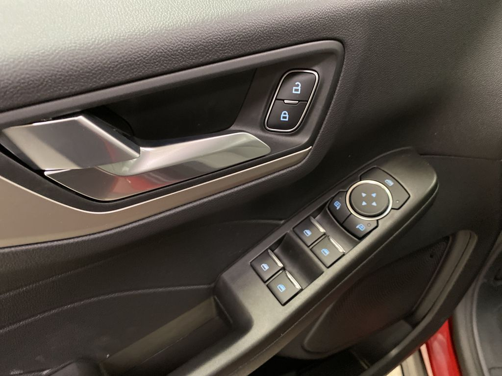 Red[Rapid Red Metallic Tinted Clearcoat] 2021 Ford Escape  Driver's Side Door Controls Photo in Dartmouth NS
