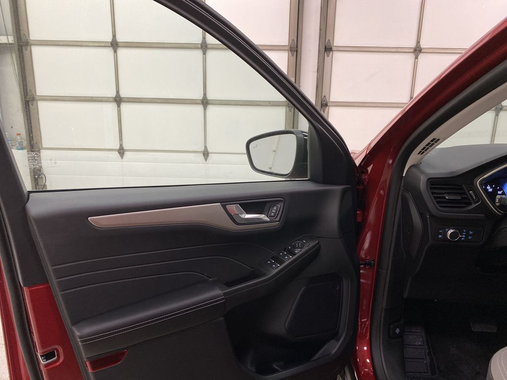 Red[Rapid Red Metallic Tinted Clearcoat] 2021 Ford Escape Left Front Interior Door Panel Photo in Dartmouth NS