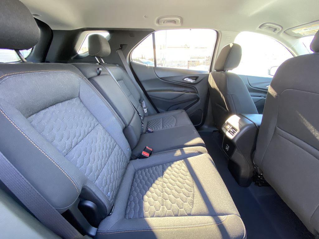 White[Summit White] 2021 Chevrolet Equinox LT Right Side Rear Seat  Photo in Calgary AB