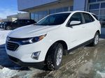 White[Summit White] 2021 Chevrolet Equinox LT Left Front Head Light / Bumper and Grill in Calgary AB