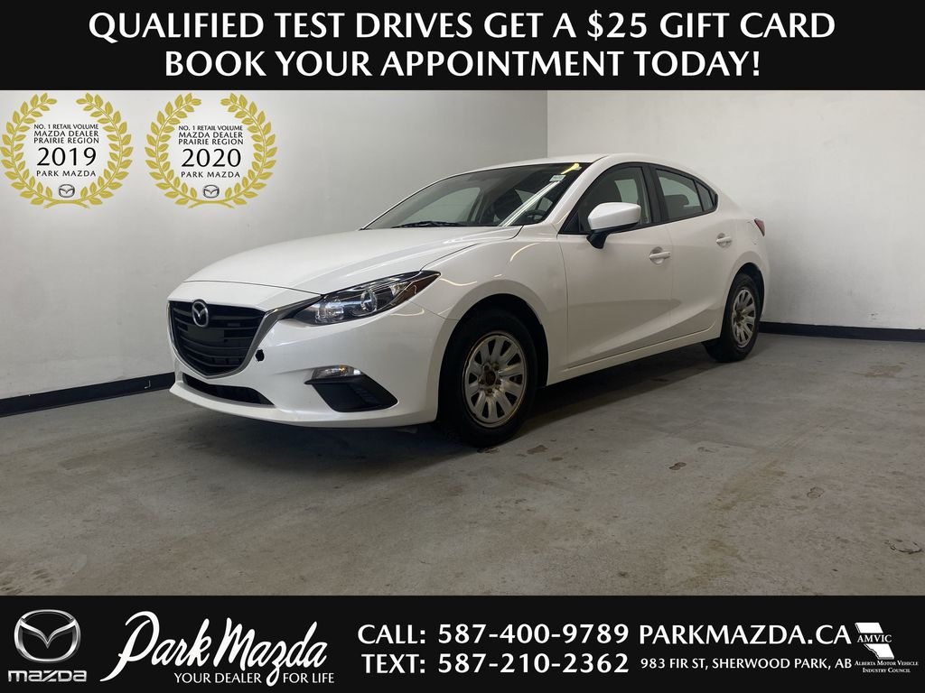 2016 Mazda Mazda3 GX -  Bluetooth, Backup Camera, LCD Touchscreen