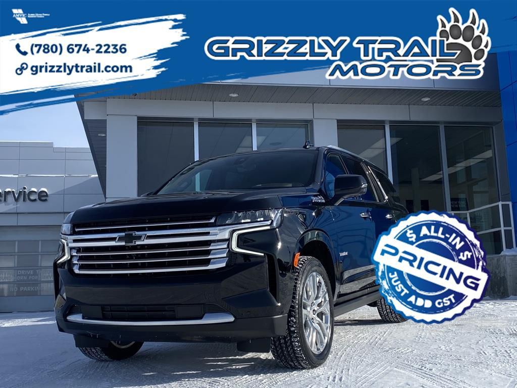Black 2021 Chevrolet Tahoe