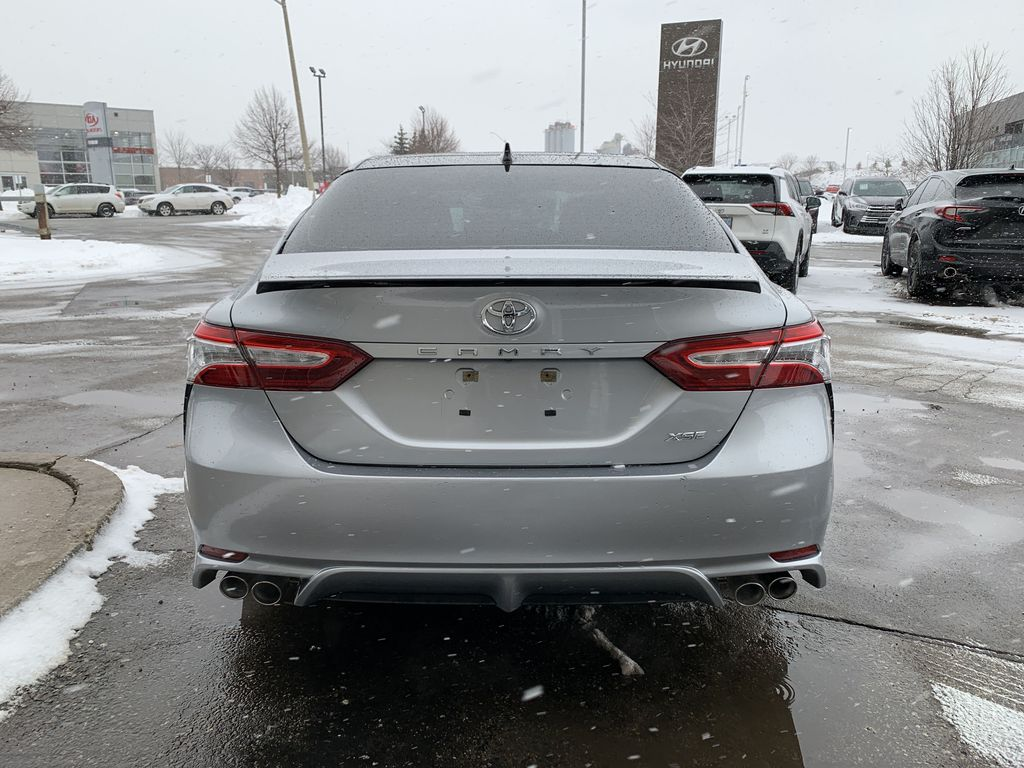Silver[Celestial Silver Metallic w/Black Roof] 2020 Toyota Camry Left Front Interior Photo in Brampton ON