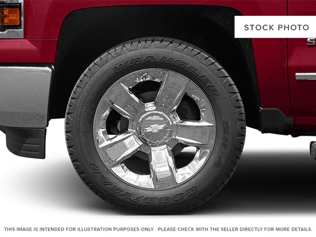Burgundy 2014 Chevrolet Silverado 1500 Left Front Rim and Tire Photo in Fort Macleod AB