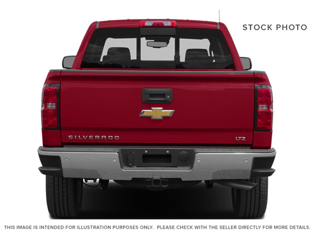 Burgundy 2014 Chevrolet Silverado 1500 Rear of Vehicle Photo in Fort Macleod AB