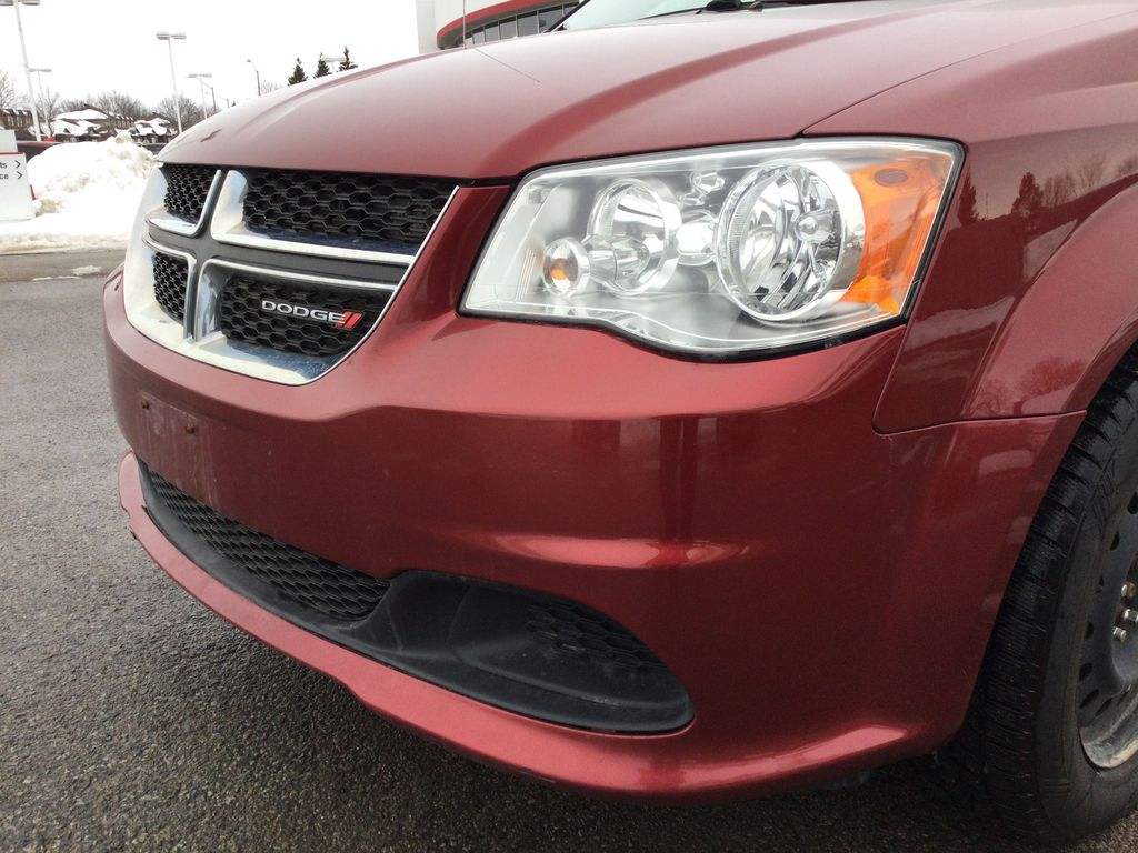 Red[Deep Cherry Red Crystal Pearl] 2016 Dodge Grand Caravan Left Front Head Light / Bumper and Grill in Brockville ON