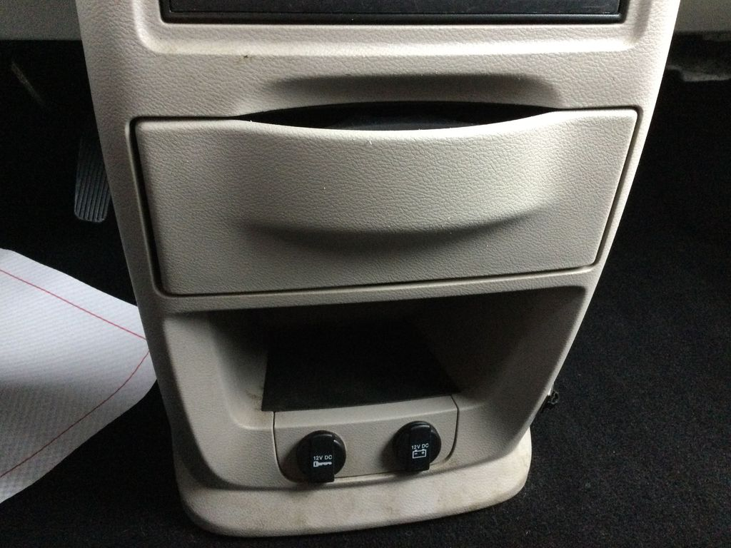 Red[Deep Cherry Red Crystal Pearl] 2016 Dodge Grand Caravan Center Console Photo in Brockville ON
