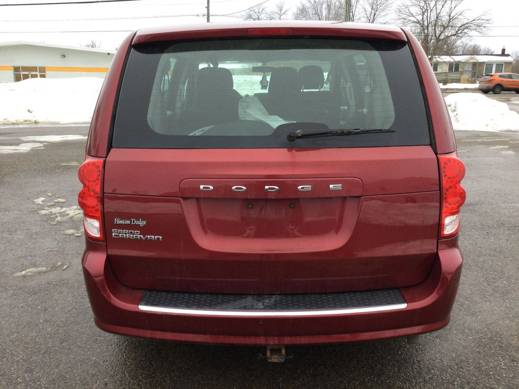 Red[Deep Cherry Red Crystal Pearl] 2016 Dodge Grand Caravan Rear of Vehicle Photo in Brockville ON