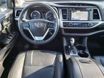 Silver[Celestial Silver Metallic] 2018 Toyota Highlander Steering Wheel and Dash Photo in Kelowna BC