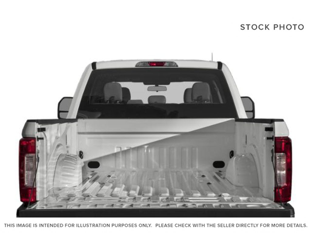 White[Oxford White] 2019 Ford Super Duty F-350 SRW Trunk / Cargo Area Photo in Fort Macleod AB
