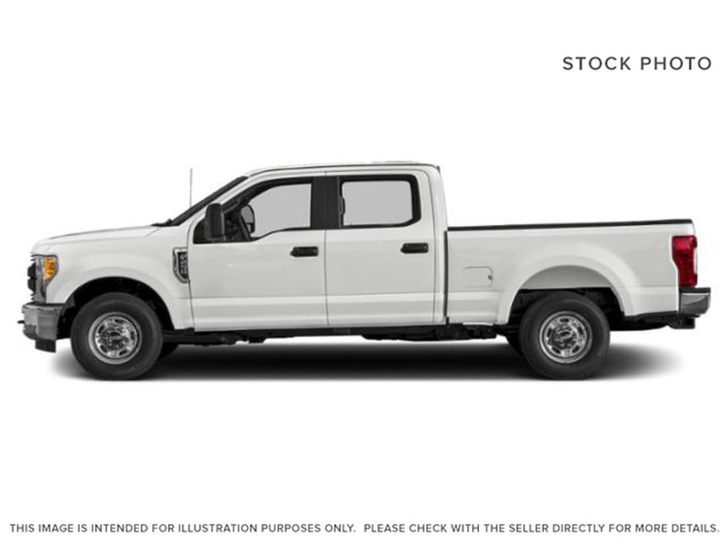 White[Oxford White] 2019 Ford Super Duty F-350 SRW Left Side Photo in Fort Macleod AB