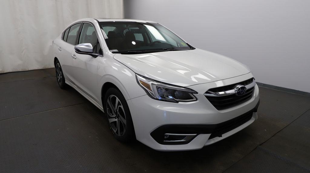 White 2021 Subaru Legacy Left Front Head Light / Bumper and Grill in Lethbridge AB