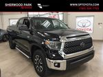Black[Midnight Black Metallic] 2018 Toyota Tundra TRD Off-Road Double Cab 4WD Primary Photo in Sherwood Park AB
