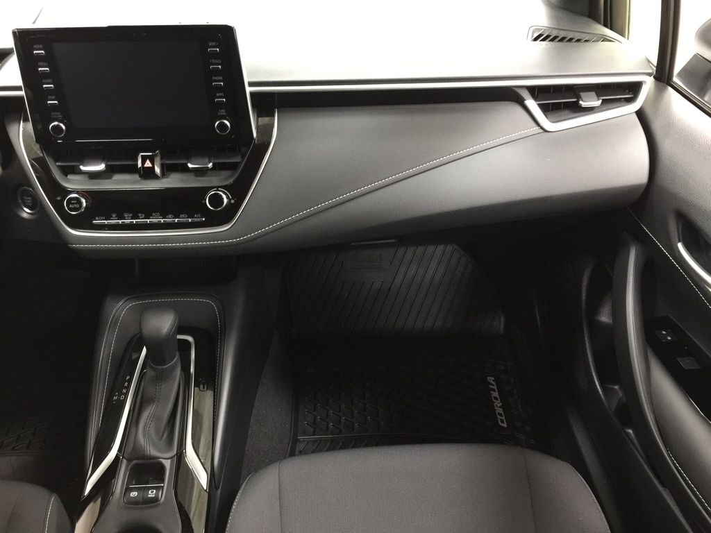 Silver[Classic Silver Metallic] 2019 Toyota Corolla Hatchback Right Front Seat Photo in Sherwood Park AB