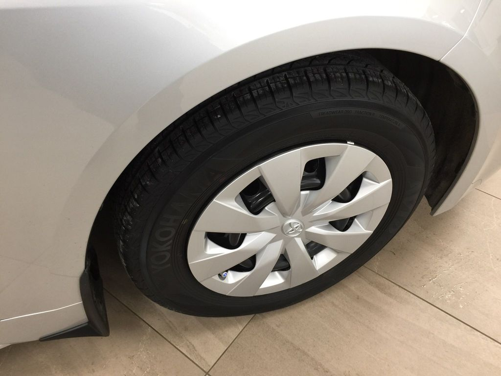 Silver[Classic Silver Metallic] 2019 Toyota Corolla Hatchback Right Front Rim and Tire Photo in Sherwood Park AB