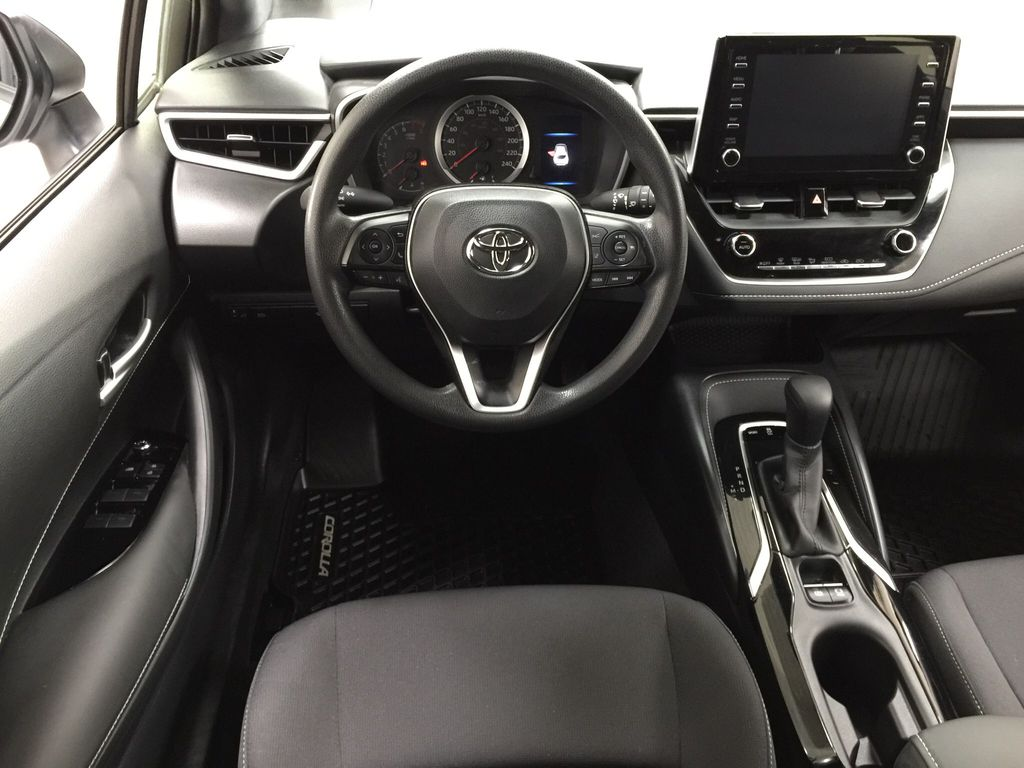 Silver[Classic Silver Metallic] 2019 Toyota Corolla Hatchback Left Front Seat Photo in Sherwood Park AB
