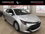 Silver[Classic Silver Metallic] 2019 Toyota Corolla Hatchback Primary Photo in Sherwood Park AB