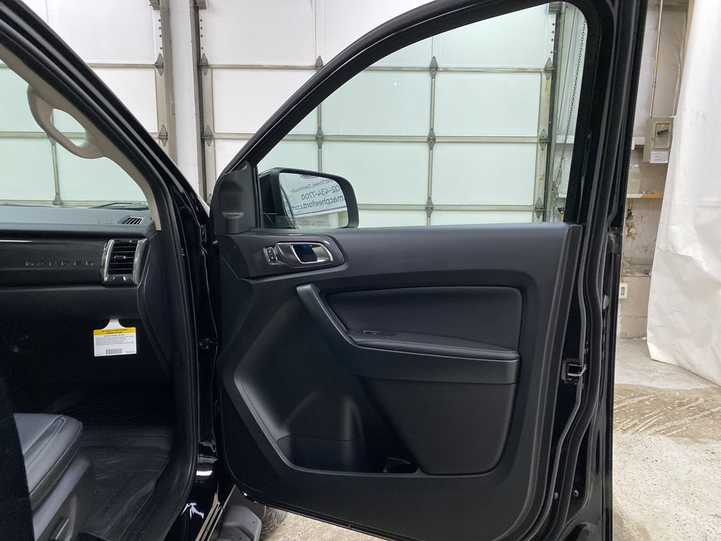 Black[Shadow Black] 2021 Ford Ranger Right Front Interior Door Panel Photo in Dartmouth NS