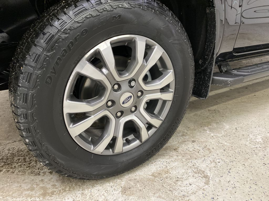 Black[Shadow Black] 2021 Ford Ranger Left Front Rim and Tire Photo in Dartmouth NS